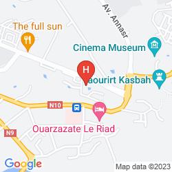 Mapa IBIS OUARZAZATE CENTRE