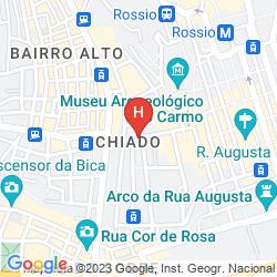 Mapa BORGES CHIADO