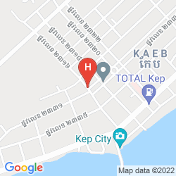 Mapa AU PARADIS BLEU