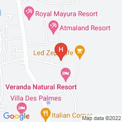 Mapa VANNA HILL RESORT