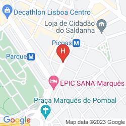 Mapa SANA LISBOA
