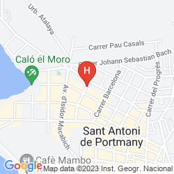 Mapa LAS HURDES
