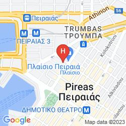 Mapa PIRAEUS THEOXENIA