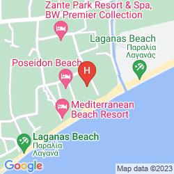 Mapa GALAXY BEACH RESORT, BW PREMIER COLLECTION