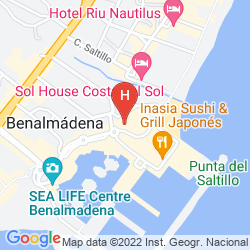 Mapa MAC PUERTO MARINA BENALMADENA