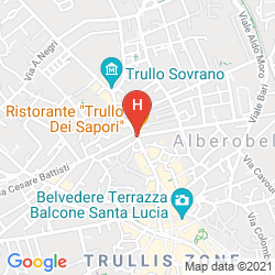 Mapa LUXURY TRULLO