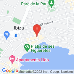 Mapa SUNCOAST IBIZA