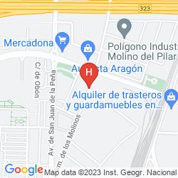 Mapa YIT CIUDAD DE ZARAGOZA