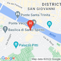 Mapa PITTI PALACE AL PONTE VECCHIO