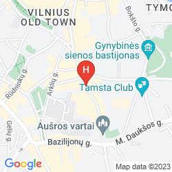 Mapa EUROPA ROYALE VILNIUS