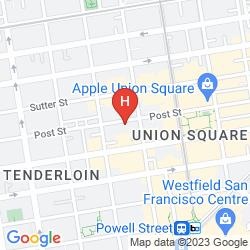 Mapa ZEPPELIN SAN FRANCISCO