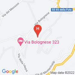 Mapa VILLA LE RONDINI
