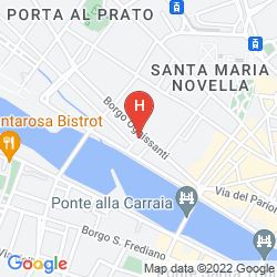 Mapa THE WESTIN EXCELSIOR, FLORENCE