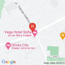 Mapa VEGA SOFIA