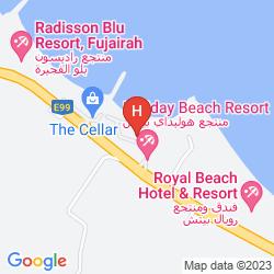 Mapa SANDY BEACH RESORT