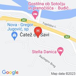 Mapa TERME
