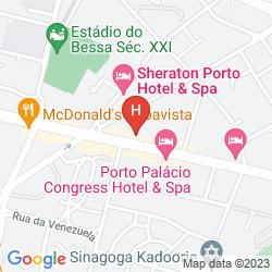 Mapa PORTUS CALE