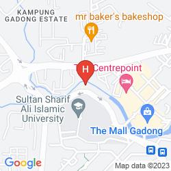 Mapa CENTREPOINT HOTEL