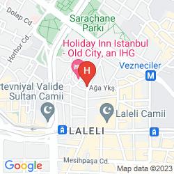 Mapa Yigitalp Hotel