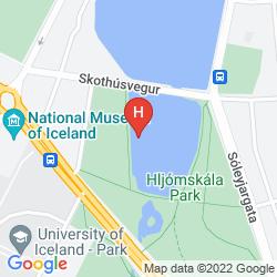 Mapa REYKJAVIK CENTRUM