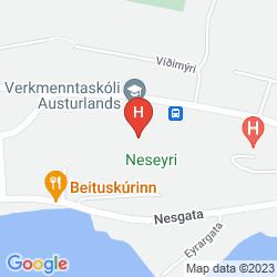 Mapa EDDA NESKAUPSTAOUR