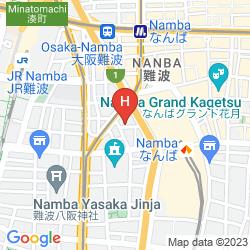 Mapa IL CUORE NAMBA