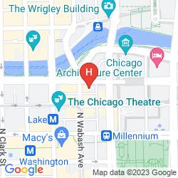 Mapa KIMPTON HOTEL MONACO CHICAGO