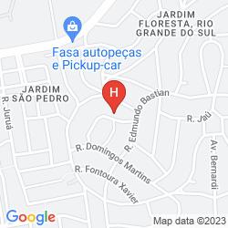 Mapa NOVOTEL PORTO ALEGRE TRES FIGUEIRAS