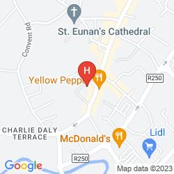 Mapa STATION HOUSE