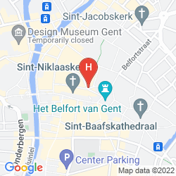 Mapa NOVOTEL GENT CENTRUM