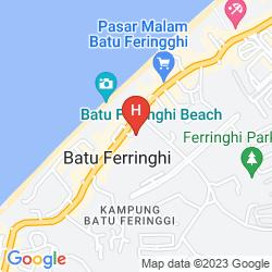 Mapa HOLIDAY INN RESORT PENANG