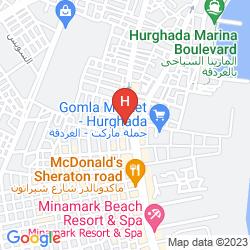 Mapa PICKALBATROS SEA WORLD RESORT