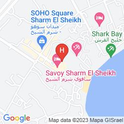 Mapa SAVOY SHARM EL SHEIKH