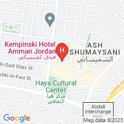 Mapa KEMPINSKI HOTEL AMMAN