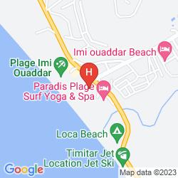 Mapa APARTHOTEL BY PARADIS PLAGE