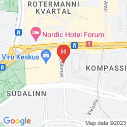 Mapa TALLINK CITY