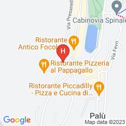 Mapa CHALET ABETE BIANCO