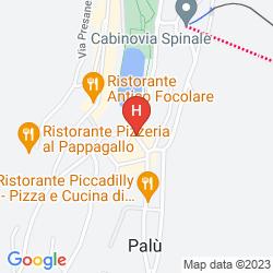 Mapa LIVING BRENTA APARTMENT