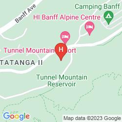Mapa BUFFALO MOUNTAIN LODGE