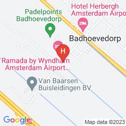 Mapa RAMADA AMSTERDAM AIRPORT SCHIPHOL