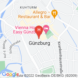 Mapa VIENNA HOUSE EASY GÜNZBURG