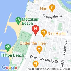 Mapa ARMON HAYARKON