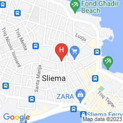 Mapa THE PALACE - AX HOTELS