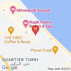 Mapa EL HANA RESIDENCE