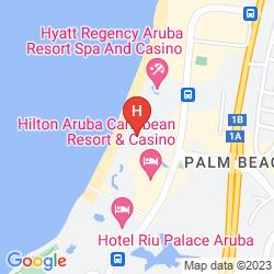 Mapa HOLIDAY INN RESORT ARUBA - BEACH RESORT & CASINO
