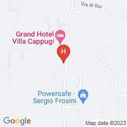 Mapa VILLA CAPPUGI
