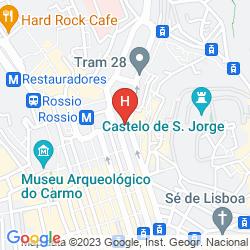 Mapa MY STORY HOTEL TEJO