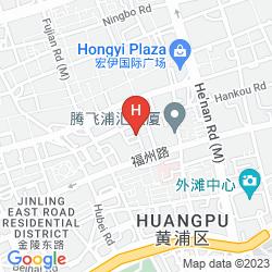 Mapa THE WESTIN BUND CENTER, SHANGHAI