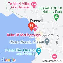 Mapa DUKE OF MARLBOROUGH