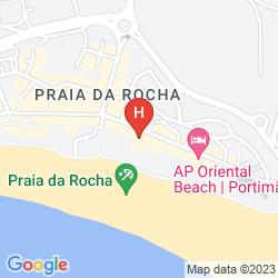 Mapa JUPITER ALGARVE